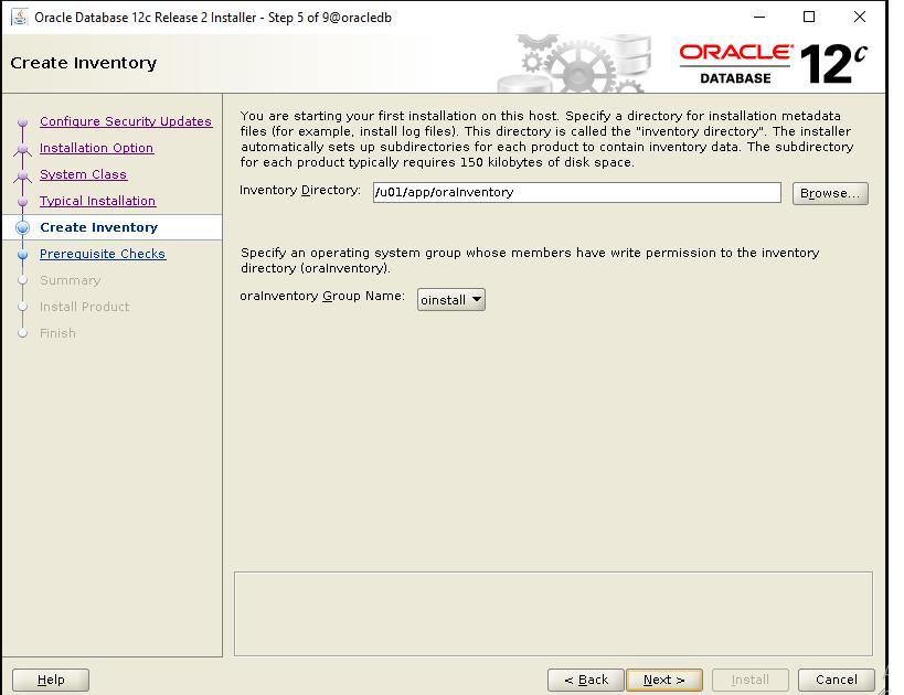 Oracle 5